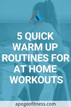Looking for a quick and effective warm up routine before you hit the gym? Check out these warm up exercises that you can do. Quick Full Body Workout, Basic Workout, Workout To Lose Weight Fast, Workout Warm Up, Low Impact Workout, Workout Ideas, Workout Routines For Beginners, Home Exercise Routines, Fun Workouts