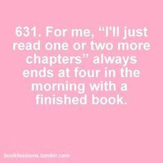 Why I won't sleep tonight >_<  Bookworm's problems # 631