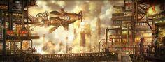 ~Steampunk City~
