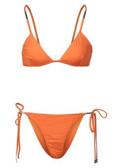verona bikini orange melissa odabash #triangelbikini #melissaodabash