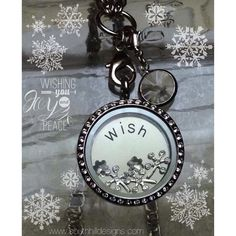 We have some really fun winter charms!! This incorporates the new snowflakes, the new Swarovski droplets & best of all the Make a Wish collection. www.southhilldesigns.com/Amelia