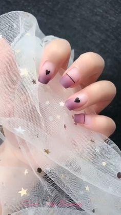 nail art videos ~ nail art designs _ nail art _ nail art designs for spring _ nail art videos _ nail art designs easy _ nail art designs summer _ nail art diy _ nail art tutorial Nail Art Hacks, Nail Art Saint-valentin, Jolie Nail Art, Nail Arts, Ombre Nail Art, Diy Ombre, Cool Nail Art, Heart Nail Designs, Valentine's Day Nail Designs