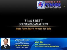 """Those who have been paying close attention to how the houses for sale in West Palm Beach have been performing may have observed the results of the dreaded """"multiple offer situation.Check this out:http://www.christianpenner.com/final-best-scenario-can-affect-west-palm-beach-houses-for-sale/"""