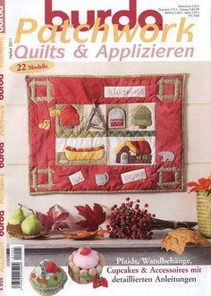 Журнал *Burda Patchwork Quilts & Applizieren* - 2011. Обсуждение на LiveInternet - Российский Сервис Онлайн-Дневников