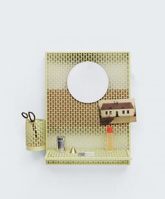Find the Hay Pinorama Board, the individual organizer with pin board designed by Inga Sempé, in the Connox home design shop. Design Shop, House Design, Design Studio, Wand Organizer, Organizers, Brick Patterns, Danish Design, Dorm Decorations, Boards