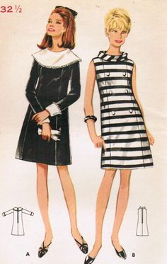 Butterick 4680, 1967 #60s #sewing #vintage