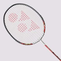 Yonex Muscle Power 3 Badminton Racquet Frame: Aluminum MUSCLE POWER FRAME with carbon shaft gives high levels of repulsion Shaft: Carbon Graphite Yonex Badminton Racket, Tennis Racket, How To Play Tennis, Muscle Power, Tennis Elbow, Handmade Leather Wallet, Racquet Sports, Rackets, Coloring Books