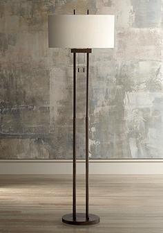wyatt ii dark bronze arc floor lamp style 1f209 floor lamp living rooms and modern farmhouse