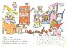 Marionetas, hadas y duendes de A.Palacin, A. Verdaguer; dibujos de Pilarín Bayés. Publicado por Abril, 1989.