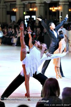 Latin dancesport passion