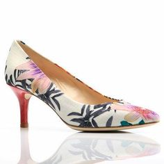 Amalfi pace #pumps in floral #heels #shoes