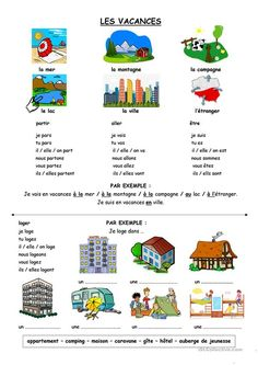 French Videos For Kids Link French Expressions, French Language Lessons, French Language Learning, French Lessons, Gcse French, Learning People, French Worksheets, French Education, French Grammar