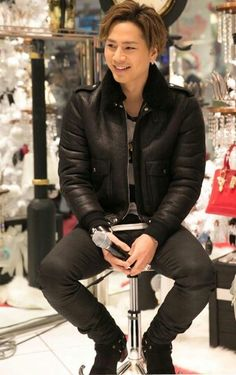 Tosaka Hiroomi 三代目j Soul Brothers, Japanese Men, Big Love, Japanese Artists, A Good Man, High Low, Leather Jacket, Singer, Actors