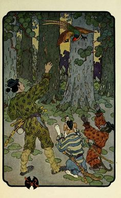 Little Peachling by Georgene Faulkner (1873-1958), illustrated by Frederick Richardson (1862-1937).