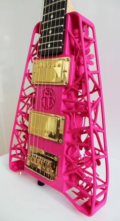 3d Printed Guitar by ella