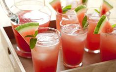 Watermelon Lemonade A refreshing and delicious summer drink.