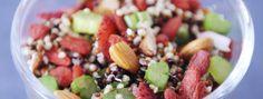 Zeste | Salade de quinoa aux fraises