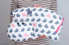 Мягкая игрушка-подушка бегемот, гипопопотам, декор детской комнаты, на заказ, индивидуальный подарок