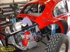 Penhall Fabrication red bug rear