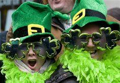 Couple on St Patricks Day AP Photo