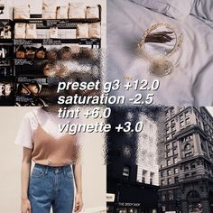 vsco filters and theme advice CLEAN FILTER works best with pictures that have neutral tones rate 9/10 G3 is a free preset