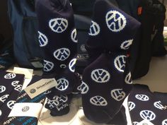 Show your VW pride with DriverGear socks! Vw Accessories, Man About Town, Alexander Mcqueen Scarf, Pride, Socks, Wedding, Fashion, Valentines Day Weddings, Moda
