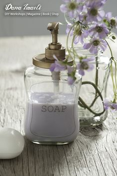 Transform an empty coffee jar into a soap dispensers. Designed and Photographed for NESCAFE brand by Dana Israeli