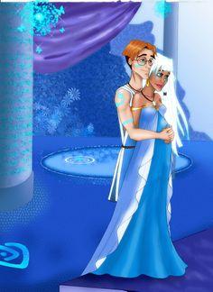 Disney couple: Milo and Kida by ~MarineElphie on deviantART