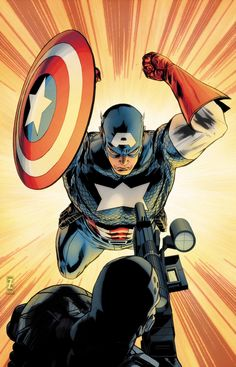 Captain America - Patrick Zircher