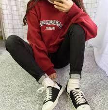 Image result for korean aesthetic red