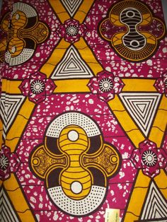 African Dutch wax fabric via Etsy - coordinate with dress base