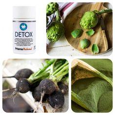 A kizárólag természetes anyagokból készült Prisma Natural Detox méregtelenítő kapszula articsóka-, fekete retek- és máriatövis kivonatot, valamint chlorella algát tartalmaz.  Serkenti a máj, a vese és a belek méregtelenítési funkcióit elősegítve, hogy a szervezet megszabadulhasson a méreganyagoktól.