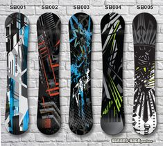 Snowboard vinyl wrap Give your Snowboard a fresh look with one of our digitally printed vinyl board wraps. They can be sized to fit any Snowboard. Our wraps are high resolution prints, made on a high specification vinyl inkjet printer Car Stickers, Car Decals, Vinyl Board, Snowboard, Wraps, Graphics, Printed, Street, Easy
