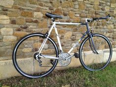 """""""Sleek Esprit"""" this Raleigh esprit frame is about all that is left original about this bike but had to be kept as is, for the classic look Email mcsimsi@hotmail.co.uk for more info"""