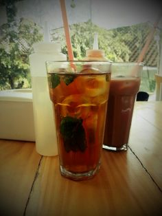 Ice mint tea