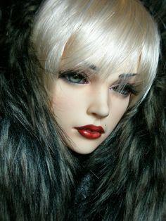 Jessica in fur - BJD by PepstarsWorld.deviantart.com on @deviantART