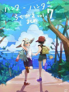Hunter X Hunter, Hunter Anime, Chasseur De Primes, Gon Killua, Hxh Characters, Ship Art, I Love Anime, Anime Ships, Wattpad