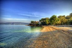 Valun beach, Cres island #dreambeaches #croatia #adriatic  #mediterra #lobagolabnb