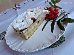 Rákócziho tvarohové rezy...Tento veľmi chutný tvarohový koláč som upiekla ako zákusok..je veľmi krehký a výborný..
