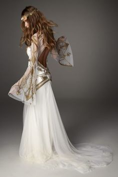 Rue De Seine Love Spell Collection - boho chic gown in style Mickah