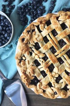 Blueberries are among the least complicated berries to use in recipes. In Foodal's recipe for blueberry pie, just mix them with a few other ingredients, pile it in a pie crust, and bake to golden-brown perfection. Get the recipe now.
