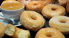 Baked Donut Recipes, My Recipes, Sweet Recipes, Baking Recipes, Dessert Recipes, Favorite Recipes, Desserts, Beignets, Chocolate Flan