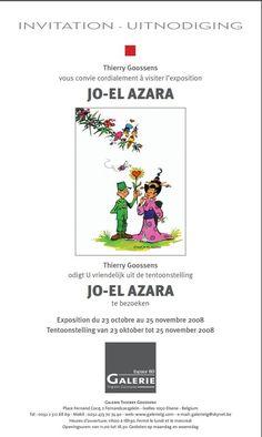 POSTER JO-EL-AZARA 2008 - W.B.