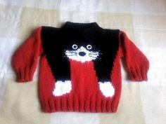 Boys Vintage Sweater - Diy Crafts - Marecipe Source by gozdeucar sweaters Baby Boy Knitting Patterns, Knitting For Kids, Baby Patterns, Baby Girl Crochet Blanket, Crochet Baby, Beanie Pattern Free, Diy Crafts Knitting, Pull Bebe, Baby Girl Sweaters