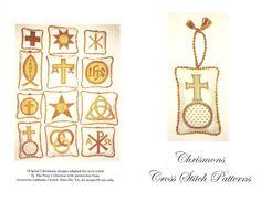Chrismons Cross Stitch Patterns