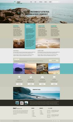 Coast - wordpress theme