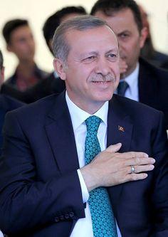 Recep Tayyip Erdogan -a real man!