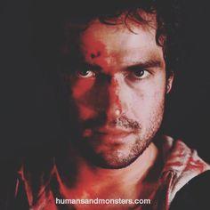 #MakeupDesign Alfonso Herrera en la película #Espectro de Alfonso Pineda. #CesarPerlop #cinemexicano