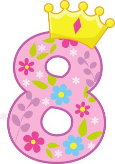 number 8 with princess crown clipart collection. Crown transparent crown clipart transparent, Tiara princess crown clip art, Free tiara clip art pictures and other 50 cliparts. Birthday Numbers, Birthday Cards, Happy Birthday, Alphabet Templates, Printable Numbers, Clip Art, Fancy Nancy, Cute Clipart, Alphabet And Numbers