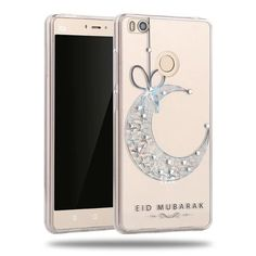 Hot Selling Rhinestone Soft TPU Phone Case For Xiaomi Mi 4s With 10 Options